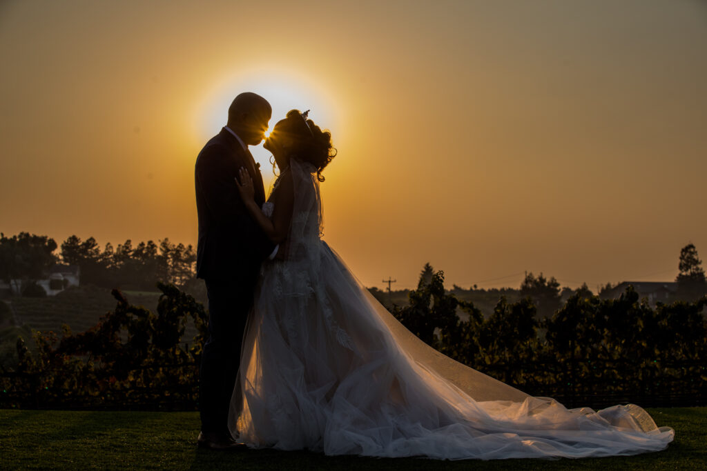 Leal Vineyard outdoor Asian Wedding AVR Films and Christophe Gentry